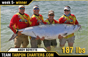 Professional Tarpon Tournament Series Tarpon Fishing Winner 5